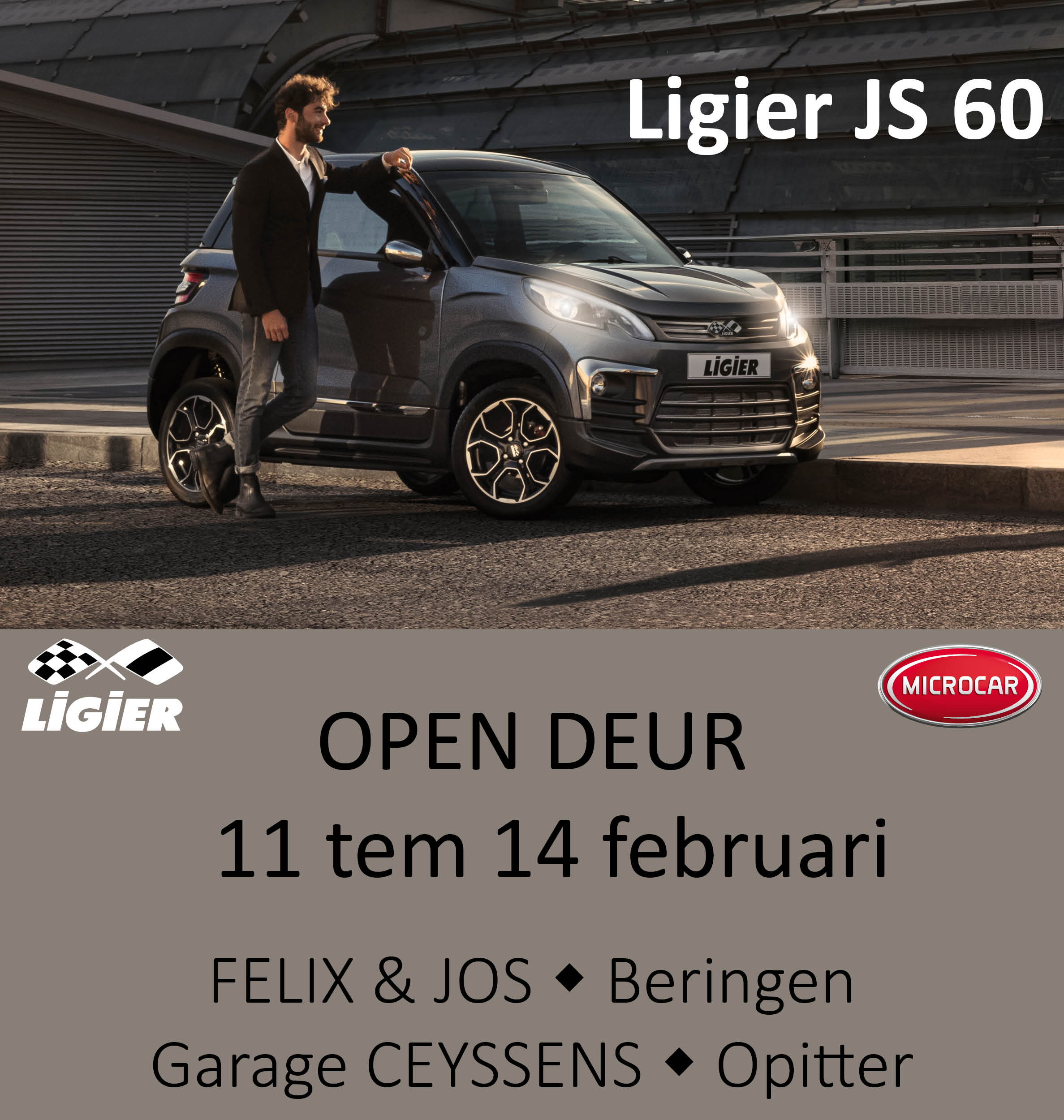Adv Banners Ligier - opendeur februari 2021